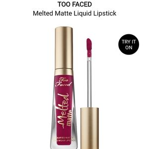 """Too Faced Melted Matte Lipstick in """"Bend & Snap"""""""
